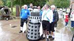At East Carlton Country Park with the Braybrooke Dalek